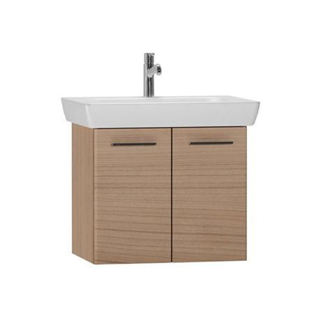 Vitra - S20 Model Vanity Unit & 1TH Basin - 65cm - Dark Cherry