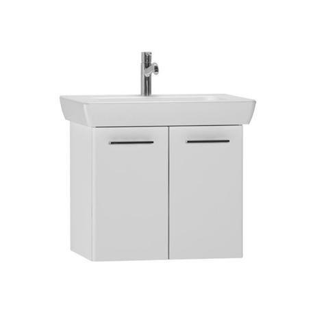 Vitra - S20 Model Vanity Unit & 1TH Basin - 65cm - High Gloss White