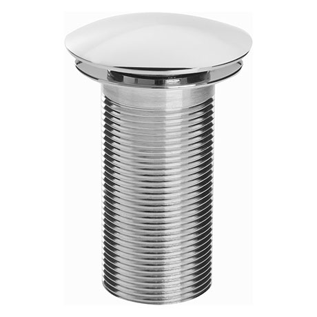 Bristan Round Unslotted Clicker Basin Waste - Chrome