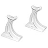 Column Radiator Feet (pair) - White profile small image view 1