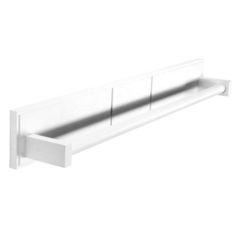 Croydex - Maine Towel Rail - White Pine Wood - WA972622