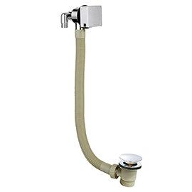 Nuie - Square Slimline Freeflow Bath Filler - E317