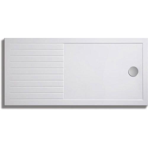 Zamori 35mm Walk In Shower Tray - Rectangular Internal Large Image