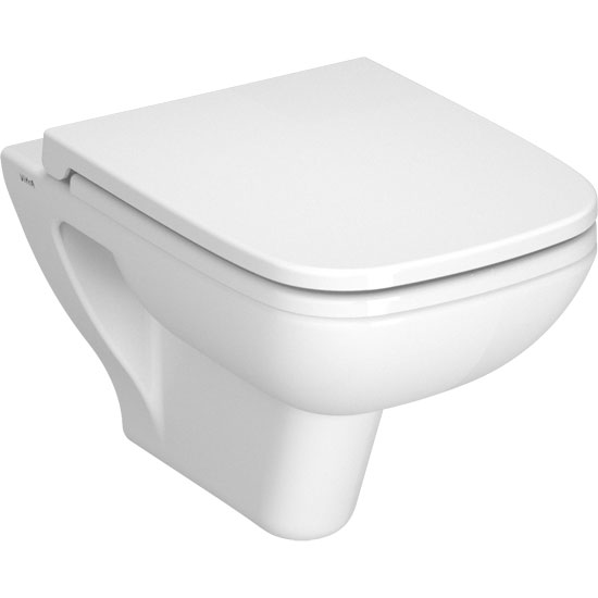 Vitra - S20 Model Wall Hung 52cm Pan - 2 x Seat Options Large Image