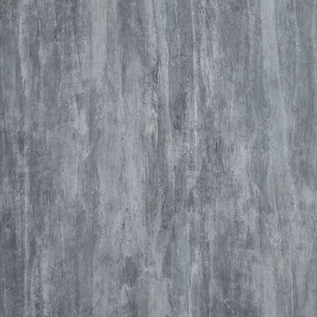 Showerwall Washed Charcoal Waterproof Decorative Wall Panel - Various Size Options
