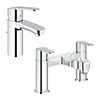 Grohe Wave Tap Package (Bath + Basin Tap) profile small image view 1