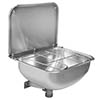 Franke WB440COP-UK Cleaner's Sink with Grid and Splashback profile small image view 1