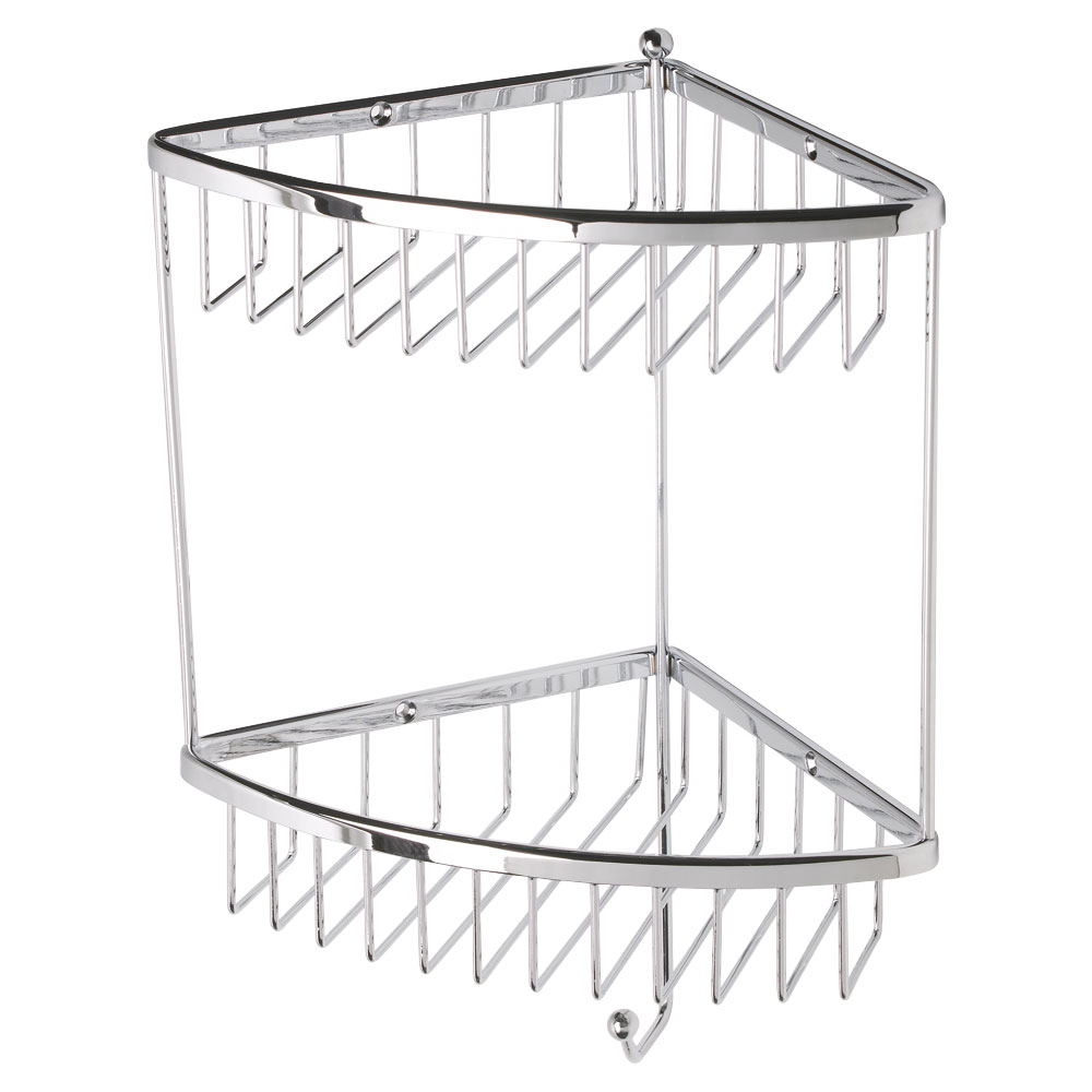 Roper Rhodes Madison Double Corner Basket - WB50.02 Large Image