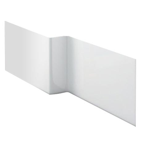 Milan Acrylic Square Offset Front Panel for 1700 L-Shaped Shower Baths
