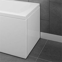 WBS301 Acrylic End Panel for 1700 L-Shaped Shower Baths Medium Image