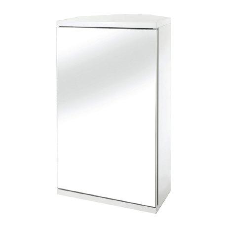 Croydex Simplicity Single Door Corner Cabinet - WC257222
