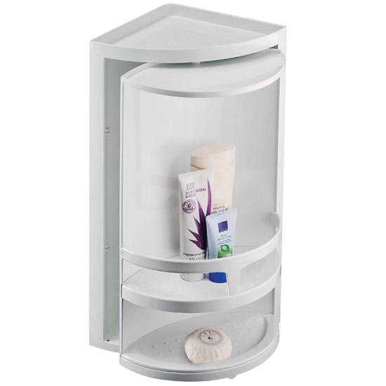 narrow storage white bathroom very units shelving cabinet gloss shelf
