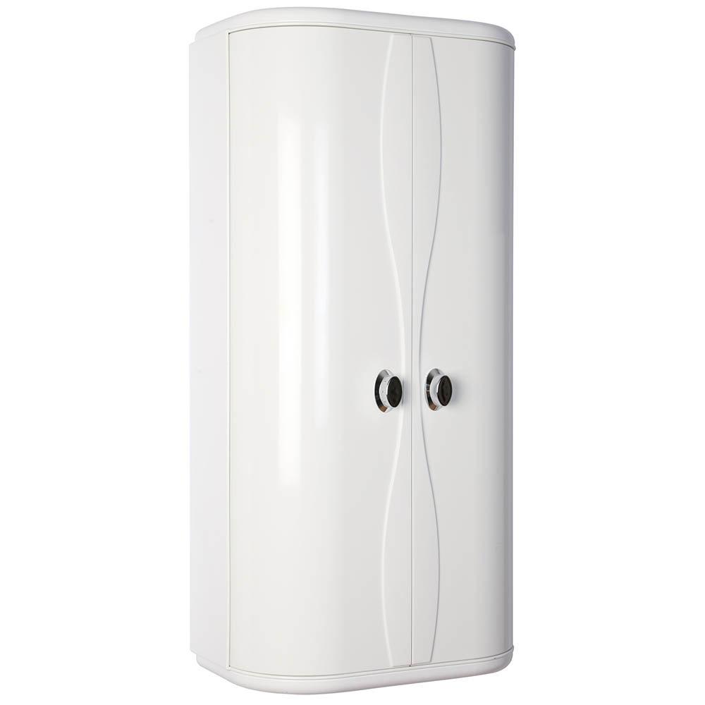 Croydex Double Door Plastic Cabinet - WC262122