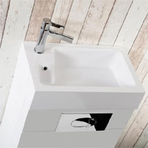 Washbasin for Metro Combined Two-In-One Medium Image