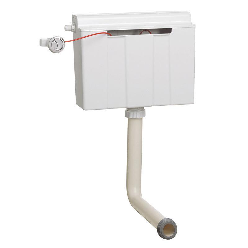 Crosswater - Slimline Dual Flush Concealed WC Cistern - WCC33X31+