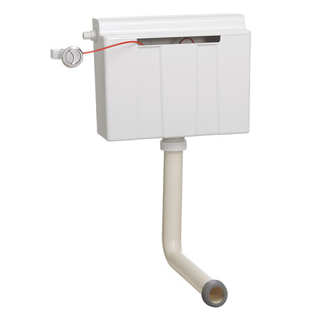 Bauhaus Slimline Dual Flush Concealed WC Cistern - WCC33X31+