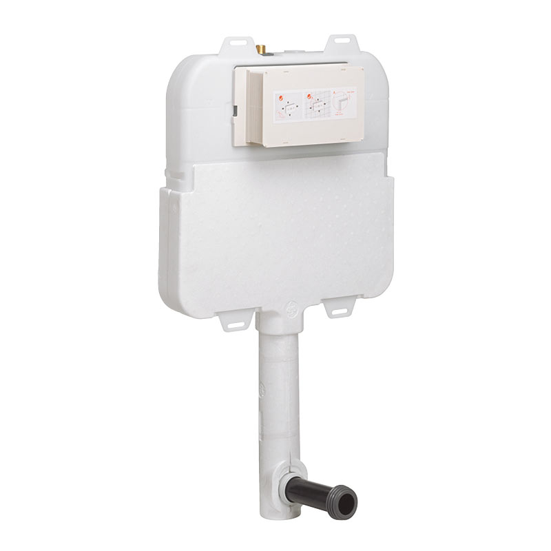 Crosswater - Taller Dual Flush Concealed WC Cistern - WCC57X46+