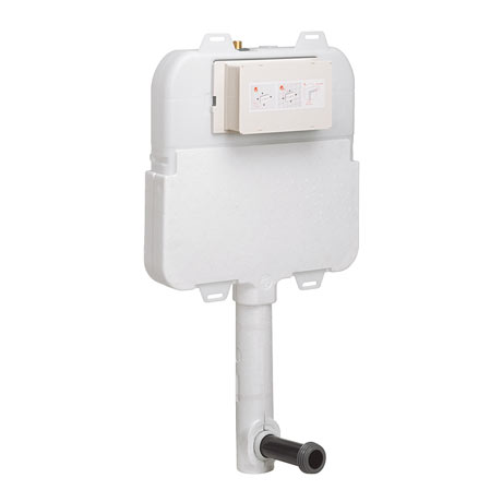 Bauhaus Taller Dual Flush Concealed WC Cistern - WCC57X46+