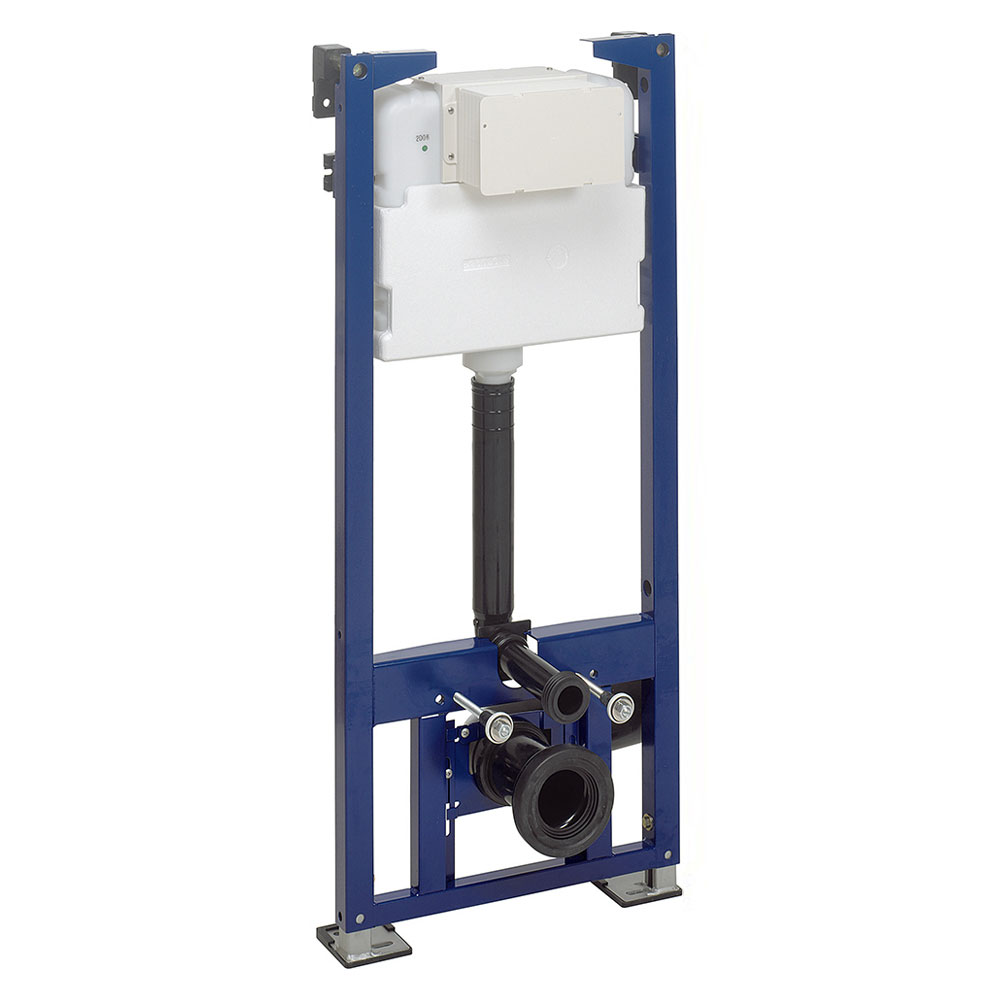 Bauhaus - 1.18m Height Wall Hung WC Support Frame profile large image view 1