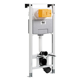 JTP 120cm Toilet Fixing Frame with Dual Flush Cistern