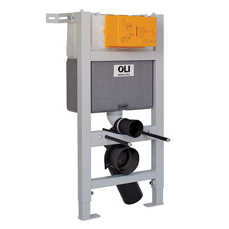 JTP 82cm Toilet Fixing Frame with Dual Flush Cistern