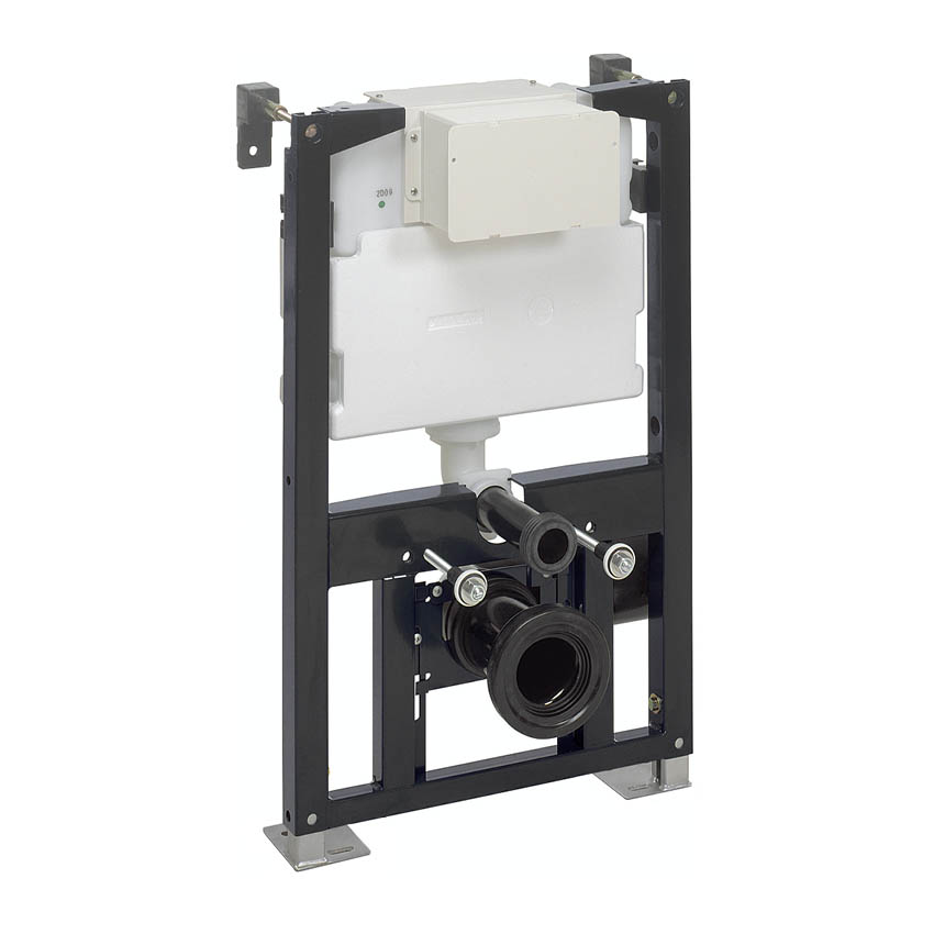 Crosswater - 0.82m Height Wall Hung WC Support Frame - WCF82X50+