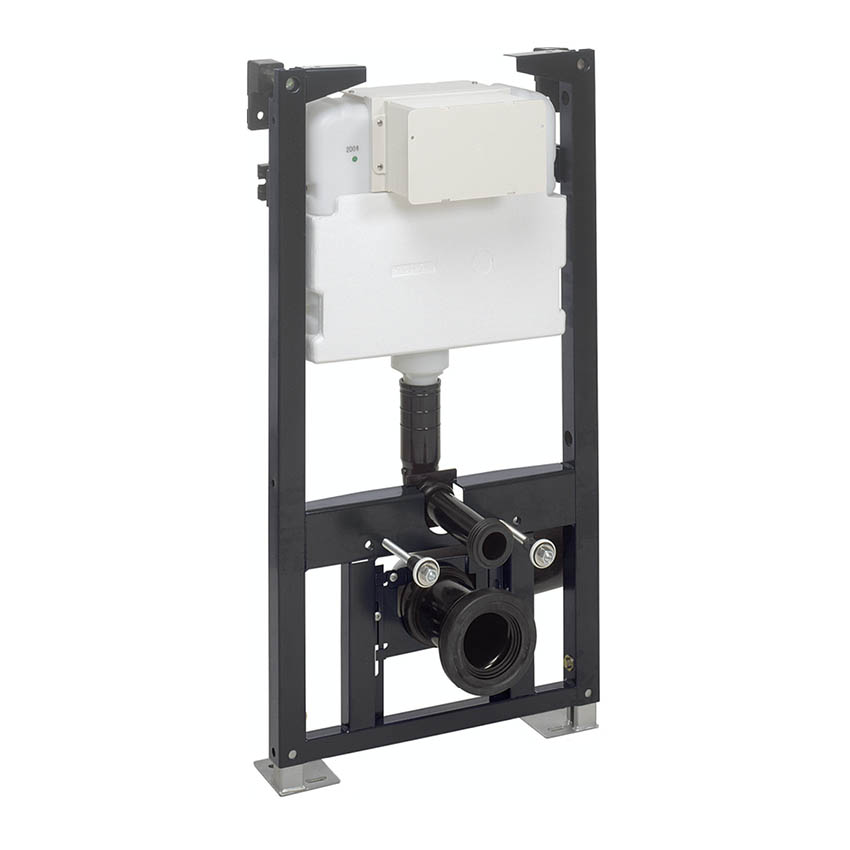 Crosswater - 0.98m Height Wall Hung WC Support Frame - WCF98X50+