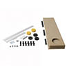 MX Panel Riser Kit + Baseboard for Classic Square/Rectangle & Pentangle Shower Trays (up to 2000mm) profile small image view 1