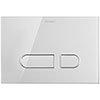 Duravit DuraSystem A1 Glass Flush Plate - White - WD5002012000 profile small image view 1
