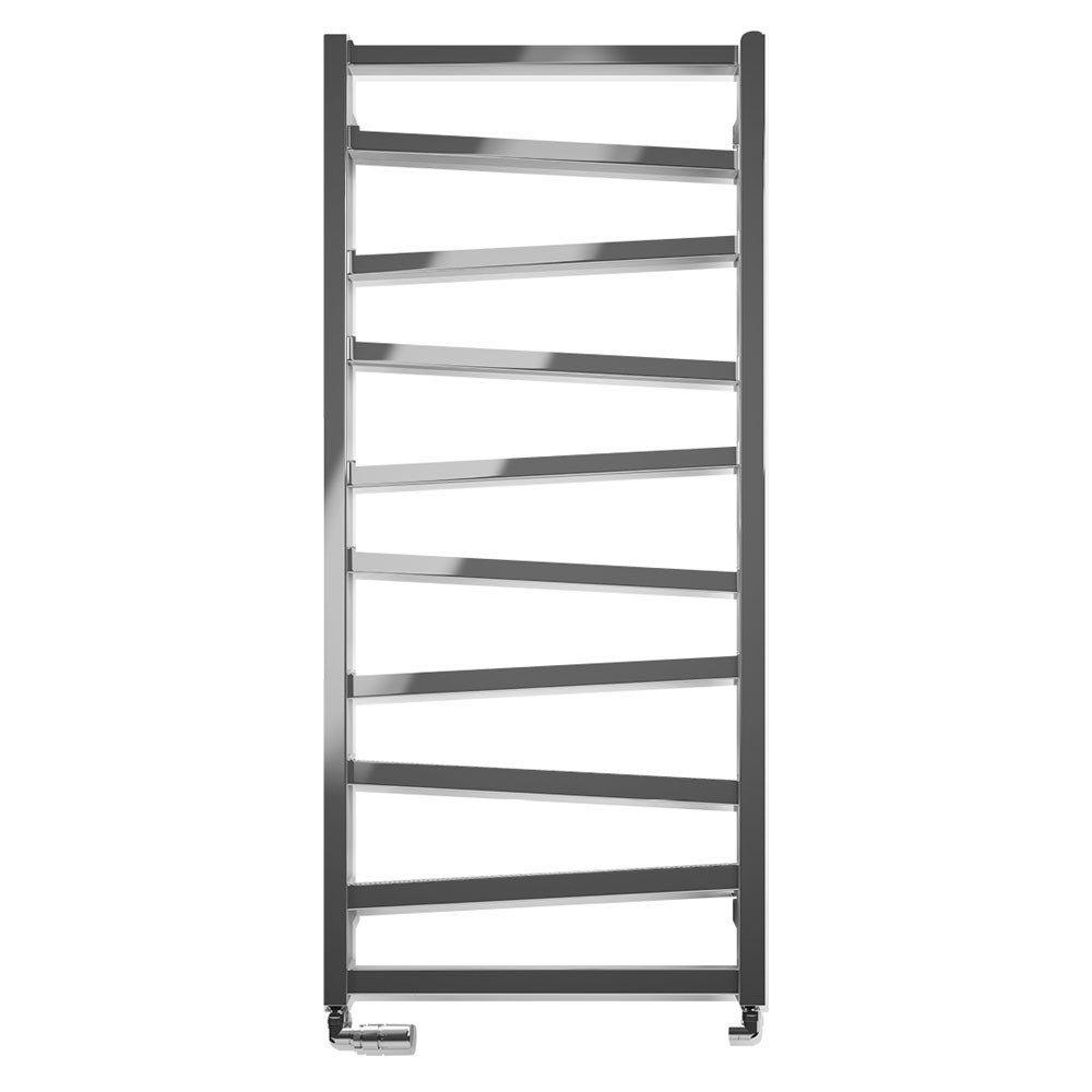 Bauhaus Wedge Towel Rail - 500 x 1096mm - Chrome profile large image view 1