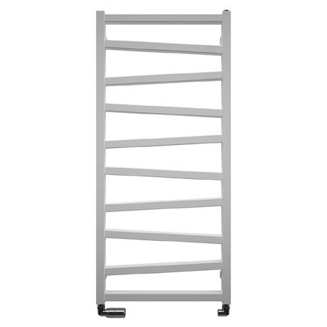 Bauhaus Wedge Towel Rail - 500 x 1096mm - Soft White Matte