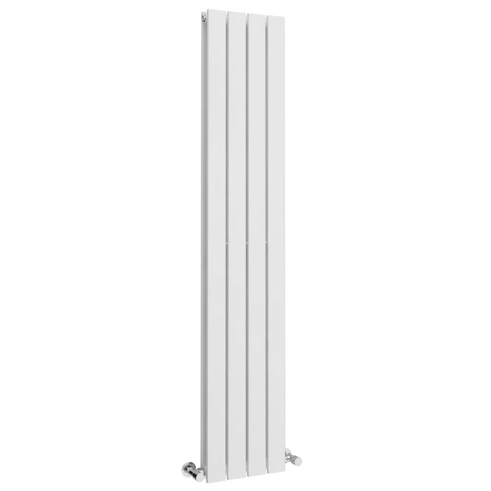 Urban 1800 x 300mm Vertical Double Panel White Radiator