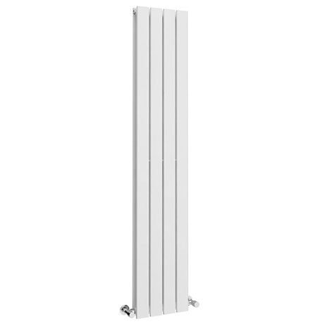 Urban 1800 x 300mm Vertical Double Panel White Radiator