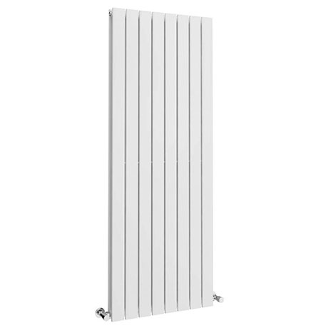 Urban 1800 x 600mm Vertical Double Panel White Radiator