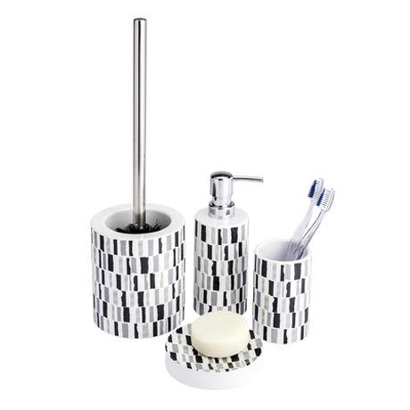 Wenko Natal Bathroom Accessories Set Large Image