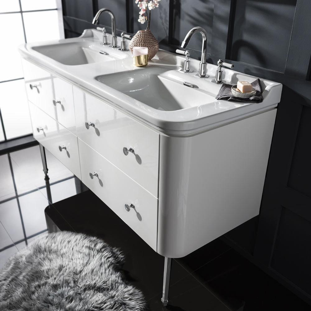 Bauhaus Waldorf 1500mm Wall Hung Vanity Unit  - WF-15-LEGWK