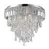 Marquis by Waterford Bresna 50cm Mixed Crystal Flush Bathroom Ceiling Light profile small image view 1