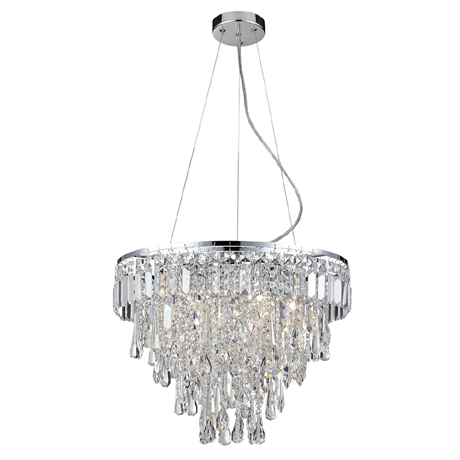 Marquis by Waterford Bresna 50cm Mixed Crystal Chandelier Bathroom Ceiling Light