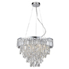 Forum 50cm Mixed Crystal Chandelier Bathroom Ceiling Light profile small image view 1