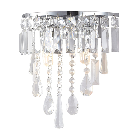 Marquis by Waterford Bresna 30cm Bathroom Wall Light