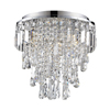 Marquis by Waterford Bresna 38cm Mixed Crystal Flush Bathroom Ceiling Light profile small image view 1