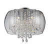 Marquis by Waterford Nore Small Encased Flush Bathroom Ceiling Light profile small image view 1