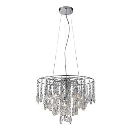 Marquis by Waterford Liffey Teardrop Chandelier Bathroom Ceiling Light