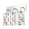 Marquis by Waterford Lagan 3 Light Bathroom Wall Light profile small image view 1