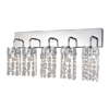 Marquis by Waterford Lagan 5 Light Bathroom Wall Light profile small image view 1