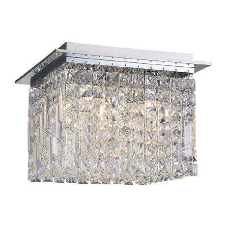 Bathroom Ceiling Lights Crystal Square marquiswaterford fane medium crystal square flush bathroom