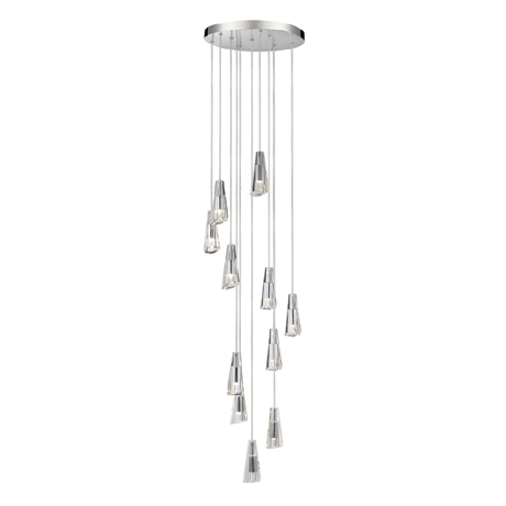 Marquis by Waterford Glyde Cascading Bathroom Ceiling Light