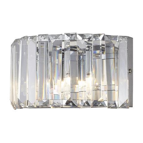 Marquis by Waterford Foyle Crystal Bar Bathroom Wall Light