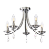 Marquis by Waterford Bandon 5 Light Curved Arm Chandelier Bathroom Ceiling Light profile small image view 1