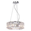 Marquis by Waterford Foyle Small Crystal Bar Pendant Bathroom Ceiling Light profile small image view 1